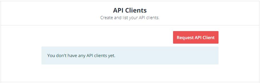 Udemy API credentials