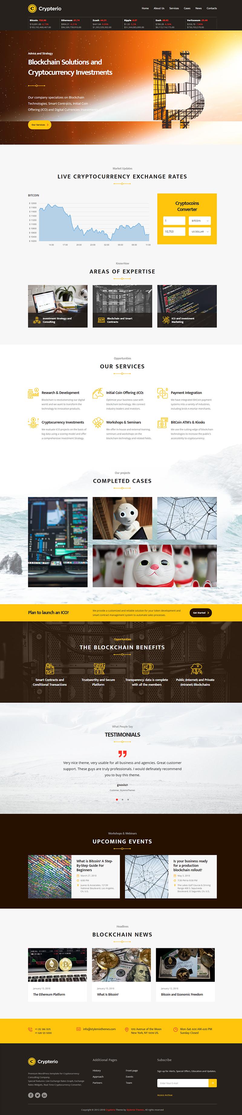 Introduction - Crypterio Theme Documentation